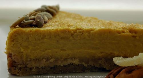 Kabocha_cheesecake