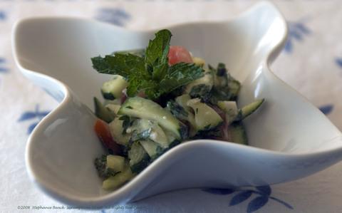 Zucchini And Yogurt Salad Recipe — Dishmaps